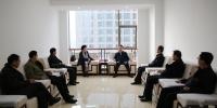 新疆农六师五家渠市考察团一行到我厅共商教育援疆工作 - 教育厅