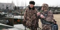 习近平在视察中部战区陆军某师时强调 大抓实战化军事训练 聚力打造精锐作战力量 - 广播电视