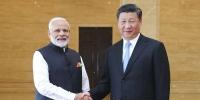 习近平同印度总理莫迪共同参观精品文物展 - 广播电视