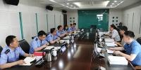 """省委""""三基建设""""第五评估组对省工商局基础工作建设进行考核评估 - 工商局"""