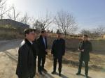 临汾市规划和自然资源局领导节前深入帮扶村进行慰问 - 国土资源厅
