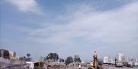"""为重点项目""""让路"""" 迎泽大街东延工程前期拆迁基本完成 - 太原新闻网"""
